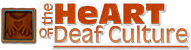 HeART of Deaf Culture Logo